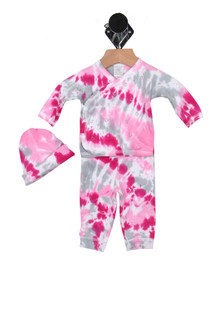 Tie-Dye Little Sleeper Set (Infant)
