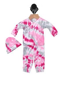 Tie-Dye Little Sleeper Set (Infant)