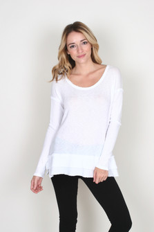 Waffle L/S Top
