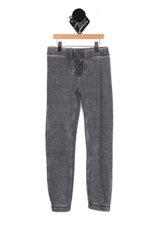 Burnout Lace Up Sweatpants (Big Kid)