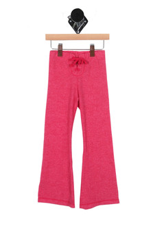 Lace Up Flared Sweatpants (Little/Big Kid)