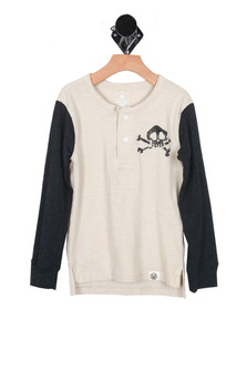 L/S Rock & Roll Henley (Little Kid)