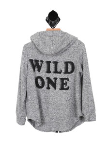 Wild Zip-Up Hoody (Little/Big Kid)