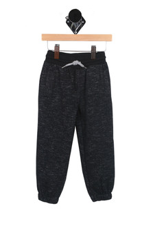 Slub Cuffed Sweat Pants (Toddler/Little Kid)