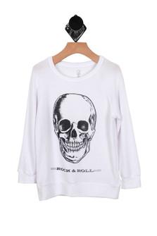 Rock & Roll L/S Sweater (Little/Big Kid)