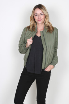 Lost In Time Bomber Jacket