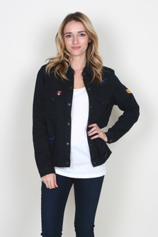 Gwen Shirt/Jacket  w/ Patch Detailing