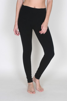High-Rise Basic Ankle Legging