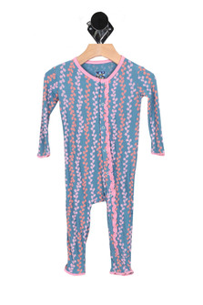 Print Muffin Ruffle Coverall (Infant)