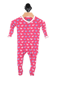 Print Footie Onesie (Infant)