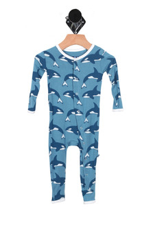 Print Fitted Coverall (Infant)