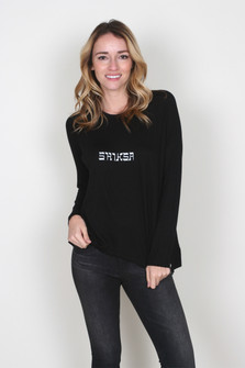 """Shiksa"" Yiddish L/S Tee"