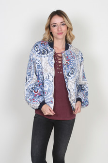 Daytrip Printed Bomber Jacket