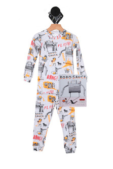 Robo-Sauce PJ Set & Matching Bedtime Story (Little Kid)