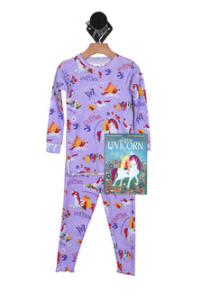 Uni The Unicorn PJ Set & Matching Bedtime Story (Little Kid)