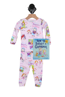 Babysit Grandma PJ Set & Matching Bedtime Story (Infant/Toddler/Little Kid)