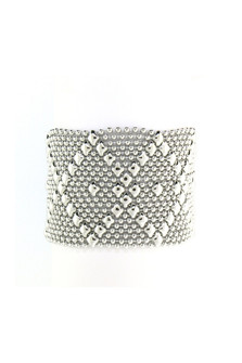 Mesh Cuff Bracelet
