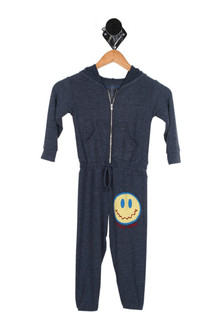 Calm Down Smiley Jumpsuit (Little/Big Kid)
