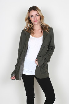 Brilliant Silo Fleece Blazer