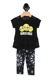 Girls Rule Legging Set (Infant)