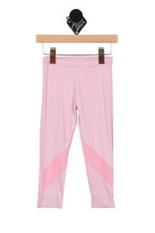 Pink Leggings w/ Mesh Detailing (Toddler)