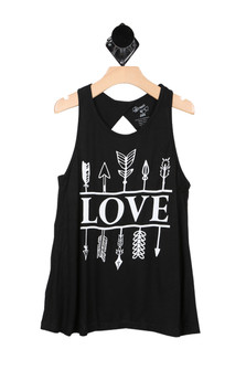 Love Arrow Tank (Big Kid)