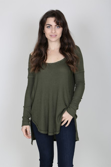 L/S Waffle Thermal Top