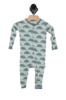 Printed Armadillo Fitted Coverall (Infant)