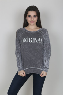 Original Distressed Sweater