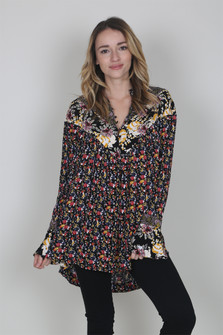 Wildflower Fields Printed Tunic