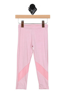Pink Leggings w/ Mesh Detailing (Little Kid)