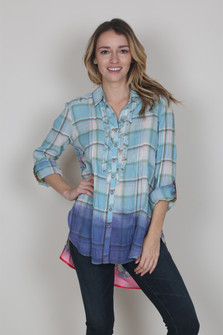 Varadero Button Up Blouse
