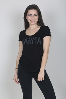 Karma Rib Knit Top