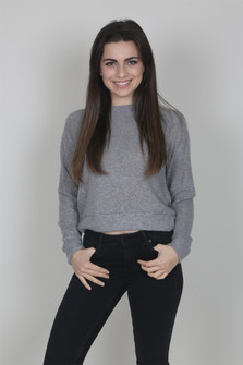 Cozy Knit Cropped Sweater