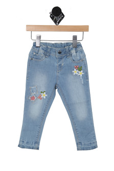 Embroidered Denim Pants (Infant)