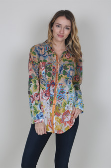 Nueva Gerona Button Up Blouse