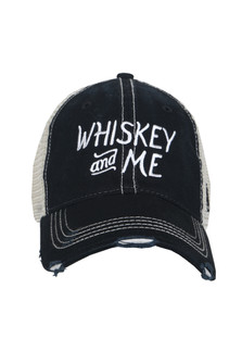 Whiskey And Me Trucker Hat