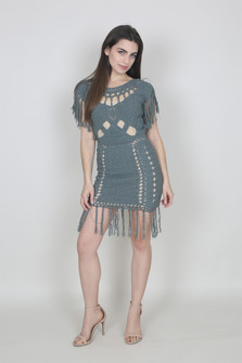 Amei Crochet Dress