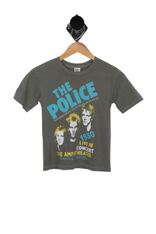 The Police Band Tee (Little/Big Kid)