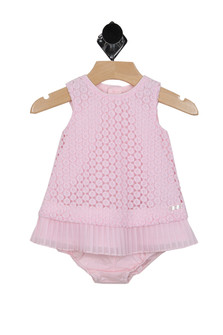 Embroidered Dress w/ Bottoms (Infant)