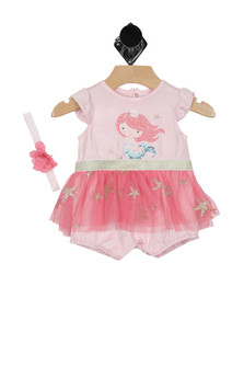 Tutu Onesie w/ Matching Headband (Infant)