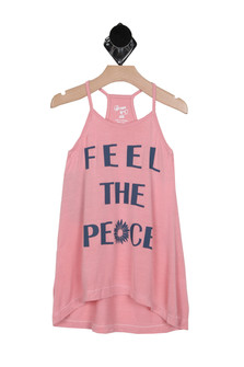 Feel The Peace Tunic (Big Kid)