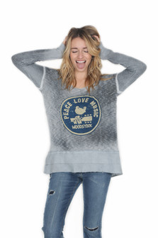 Antique Wash Woodstock Sweater