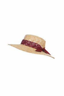 Straw Boater's Hat