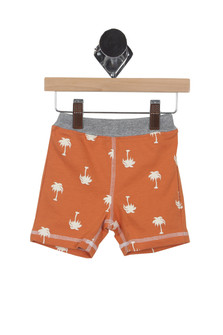 Palm Tree Cotton Shorts (Infant)