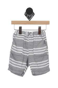 Cotton Striped Shorts (Infant/Toddler/Little Kid)