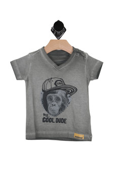 Mr. Cool Dude Monkey S/S Tee (Infant)