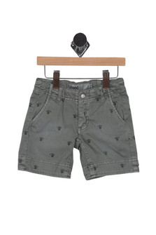 Monkey Print Shorts (Little Kid/Big Kid)