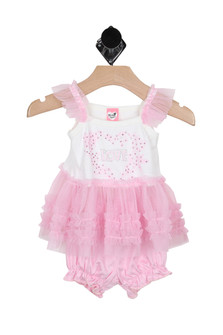 Love Tutu Tank & Bloomer Set (Infant)