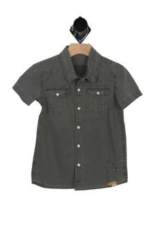 Havana S/S Button Up (Little Kid/Big Kid)